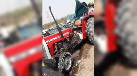 Gujarat: Ten killed, over 15 injured in tractor-luxury bus collision in Kutch