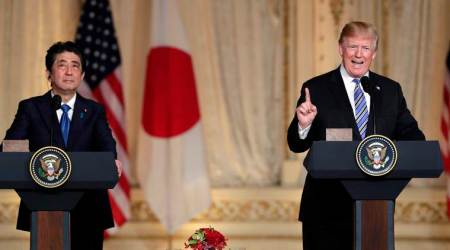 Trump, Abe fail to agree on US tariff exemption forJapan