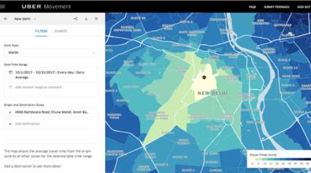 Uber is bringing its urban planning tool 'Movement' to India