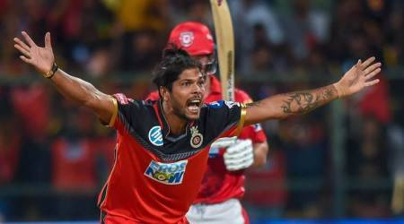 IPL 2018, Indian Premier League, Umesh Yadav, Umesh Yadav wickets, Umesh Yadav bowling, IPL news, cricket, Indian Express