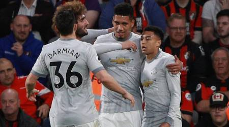 Manchester United tighten grip on second place after 2-0 win over Bournemouth