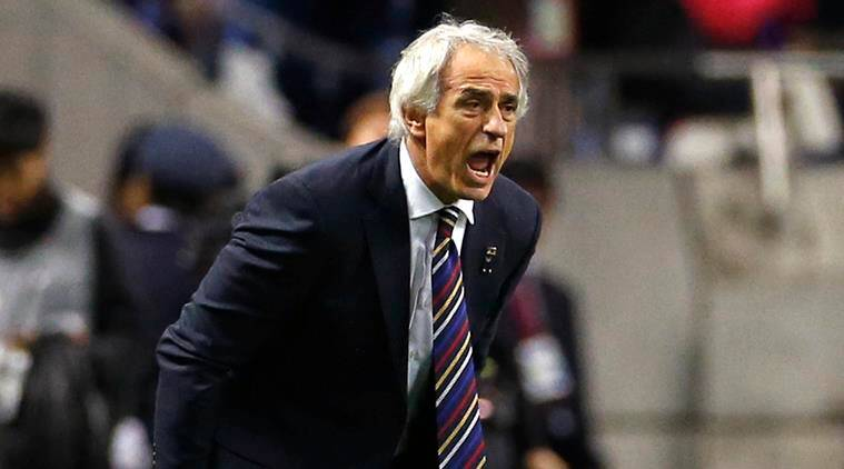 Japan sack Vahid Halilhodzic two months before World Cup