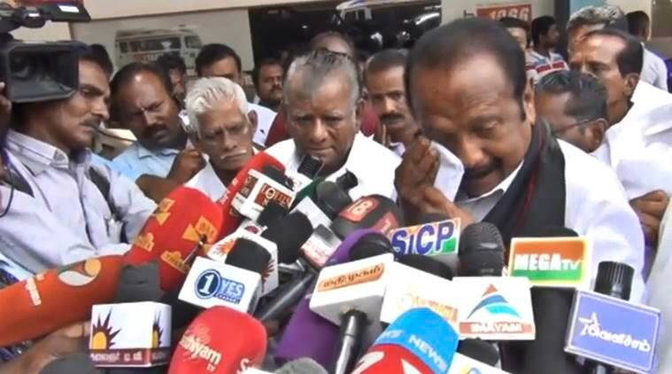Protests over Cauvery: Vaiko's nephew sets himself on fire