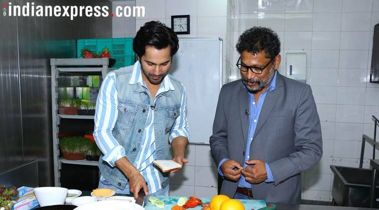 varun dhawan and shoojit sircar promote october