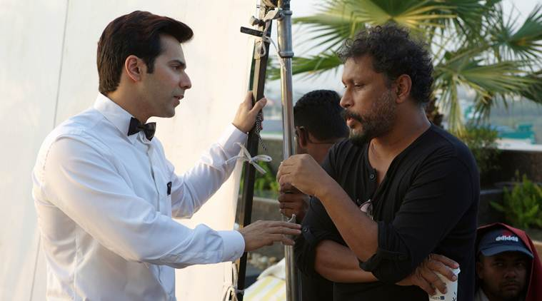shoojit sircar with varun dhawan on october