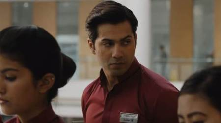 October box office collection day 2: The Varun Dhawan film earns Rs 12.51crore