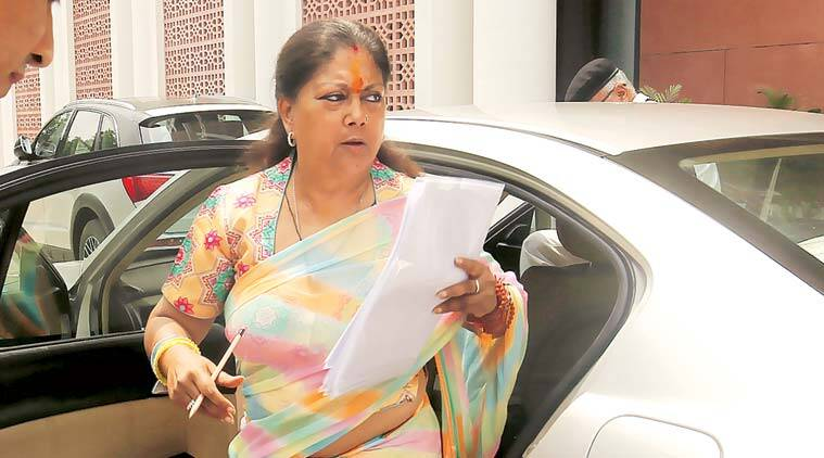 Vasundhara Raje: After second term, still confident of win