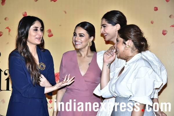 Kareena Kapoor Khan in conversation with Sonam Kapoor, Swara Bhasker and Shikha Talsania