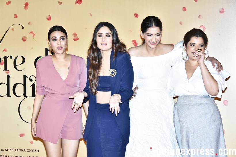 Veere Di Wedding is all about four friends, Kareena, Sonam, Swara and Shikha