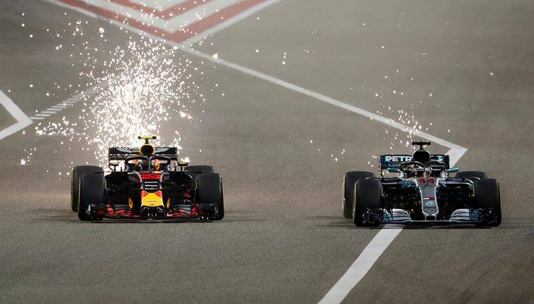 Verstappen insists he gave Hamilton enough room in Bahrain clash