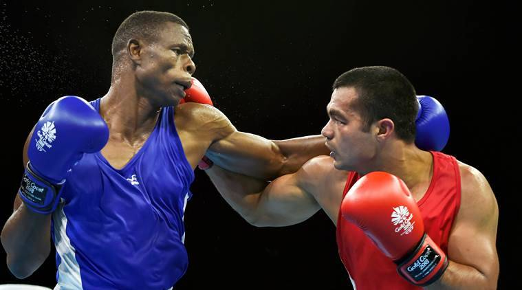 Commonwealth Games Day 9 India boxing LIve