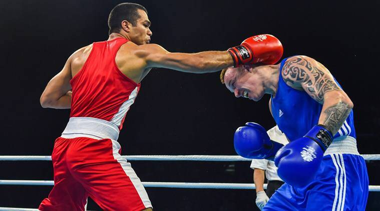 cwg 2018 five indian boxers enter final three settle for bronze