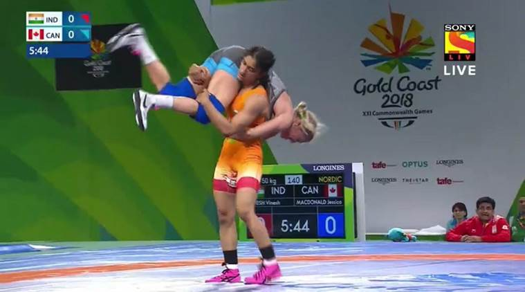CWG 2018 | Vinesh Phogat wins gold in the Women's 50 kg category
