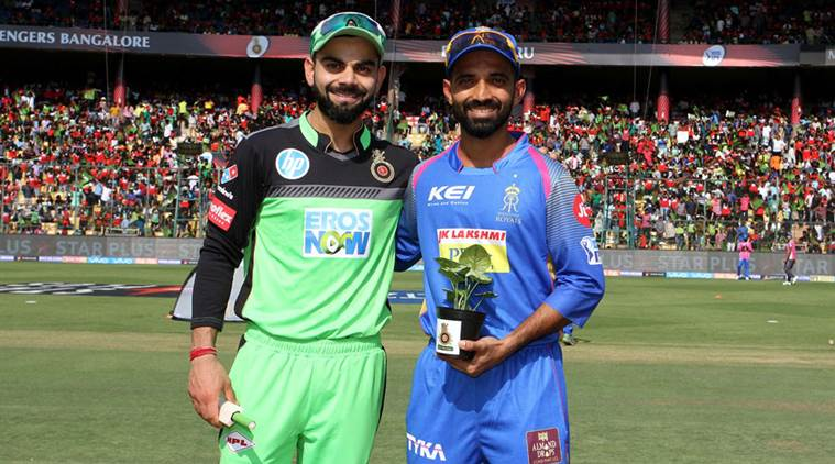 IPL 2018: Why are RCB wearing green jersey against RR