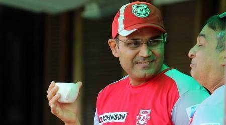 Virender Sehwag, Virender Sehwag KXIP, KXIP Virender Sehwag, IPL 2018, Indian Premier League, sports news, cricket, Indian Express