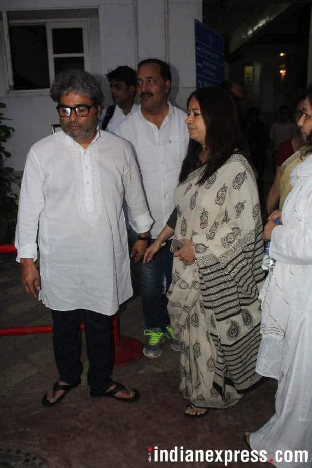 Vishal Bhardwaj and wife Rekha Bhardwaj