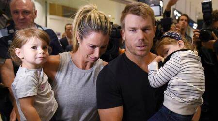 David Warner applauds wife Candice's courage after heartbreaking loss