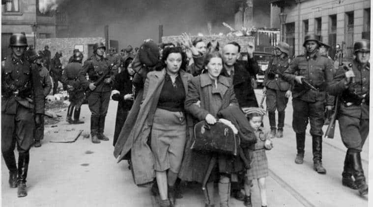 Warsaw, warsaw ghetto uprising, Warsaw ghetto uprising anniversary, Poland, World War, world news, Indian Express news
