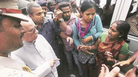 West Bengal Governor visits riot areas, stays off Muslim localities