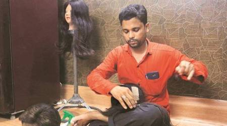 On The Job: One must care for a wig like we do for our natural hair, says wig-maker Mohammed Hassan Mulla