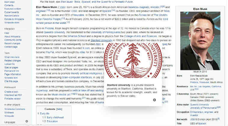 Wikipedia introduces 'Page Previews' feature, will make browsingeasy