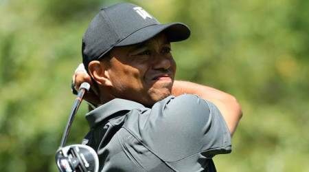 Tiger Woods on the prowl in long-awaited US Masters return