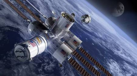 space, space hotel, hotel in space, first hotel in space, holiday in space, how to go in space, space vacation, space holiday cost, orion span, aurora station, travel news, odd news, indian express