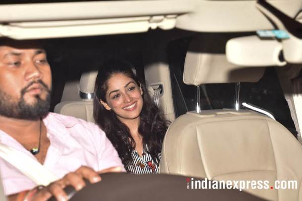 yami gautam at october screening