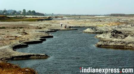 Once upon a river: Amid water tussle between Delhi and Haryana, Yamuna trickles at entrance of the capital
