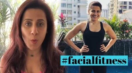 WATCH: Get rid of double chin and wrinkles with Yasmin Karachiwala's simple facial exercises