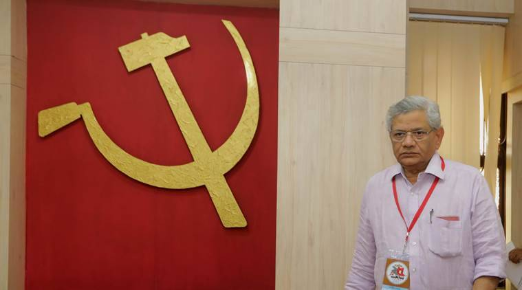 CPM Kerala unit criticises Yechury's plan to ally with Cong