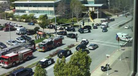 Female suspect dead in YouTube headquarters shooting in California, fourinjured