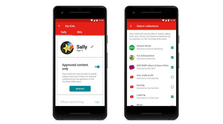 YouTube Kids new features, YouTube Kids app, YouTube Kids parental control,  videos for
