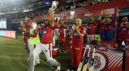 IPL 2018: Yuvraj Singh's epic celebration after Chris Gayle completes maiden hundred for KXIP, watchvideo