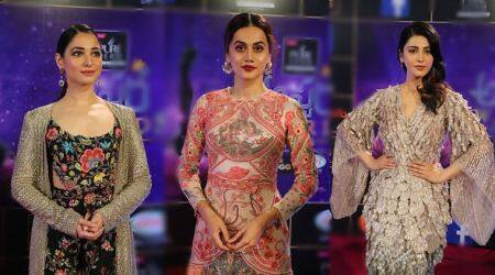 Zee Telugu Apsara Awards 2018: Tamannaah Bhatia felicitated with Sridevi Memorial Award, Shruti Haasan & Taapsee Pannu in attendance, see photos