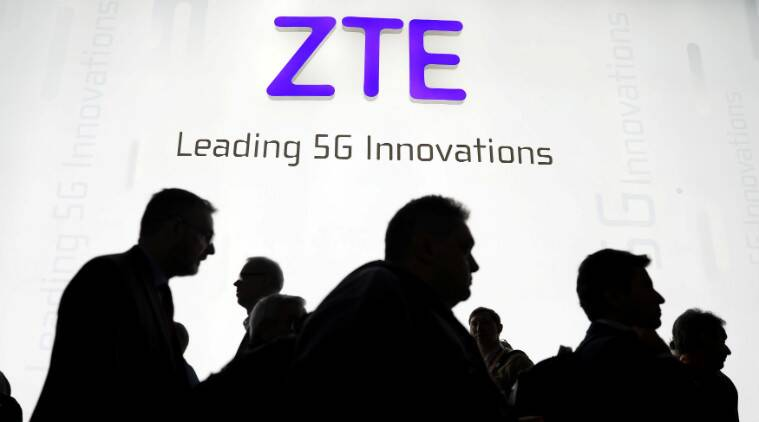 ZTE US ban, ZTE smartphones, Chinese communications firms, Qualcomm, US mobile shipments, Microsoft, US trade tariffs, Intel, Iran sanctions