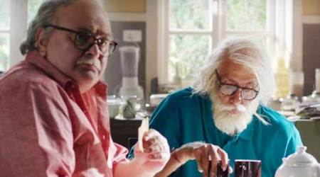 102 Not Out box office collection day 2: Amitabh Bachchan and Rishi Kapoor starrer earns Rs 9.05 crore