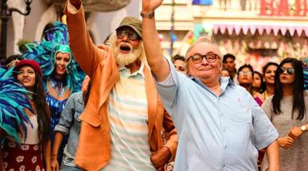 102 Not Out review Amitabh Bachchan, Rishi Kapoor