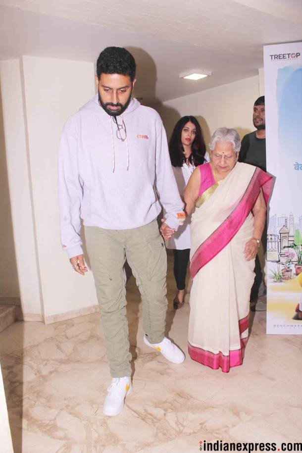 abhishek bachchan at 102 not out screening
