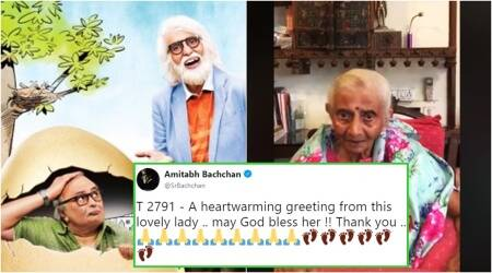 amitabh bachchan, amitabh bachchan wishes, 102 not out, 102 not out amitabh bachchan, 102 not out amitabh bachchan rishi kapoor, 102 not out promotions, 102 not out latest news, 102 not out social, 102 not out Twitter, 102 not out Twitter, Indian express, Indian express News