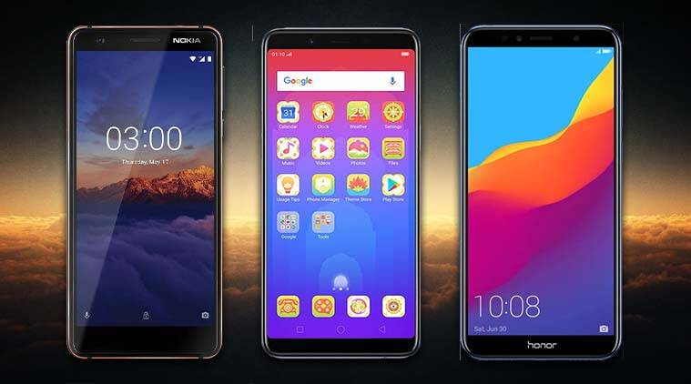 f4398f3d214 Nokia 3.1 Vs Nokia 3 Vs Oppo Realme 1 Vs Honor 7A  The budget ...