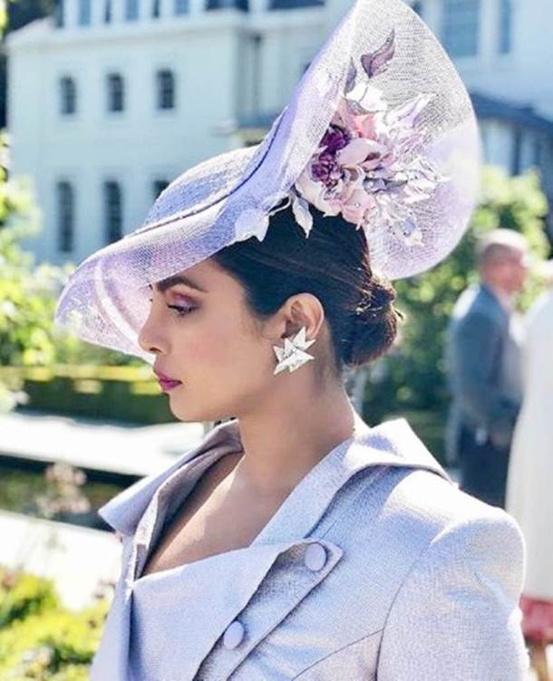 priyanka chopra attends meghan markle and prince harry wedding