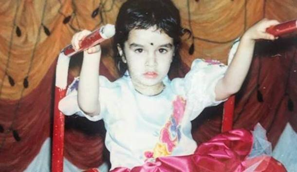 shraddha kapoor childhood photos