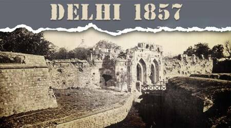 Five 1857 markers in Delhi, a walk with WilliamDalrymple