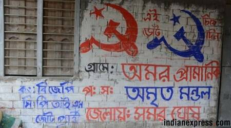 In Bengal pockets, saffron and red quietly sharespace