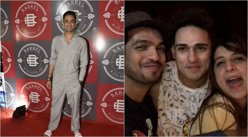 vikas gupta birthday bash