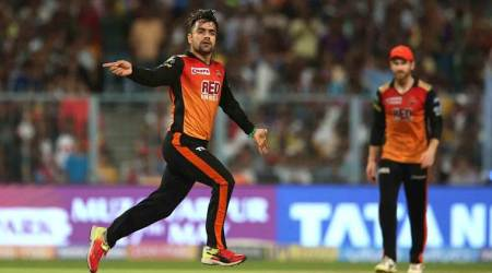 IPL 2018, Indian Premier League, Rashid Khan, KKR vs SRH, Sunrisers Hyderabad, Kolkata Knight Riders, sports news, cricket, Indian Express