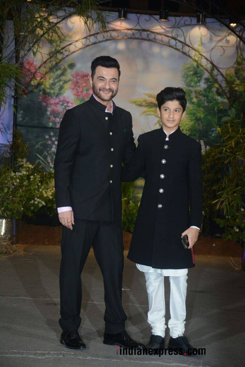 sanjay kapoor with his son