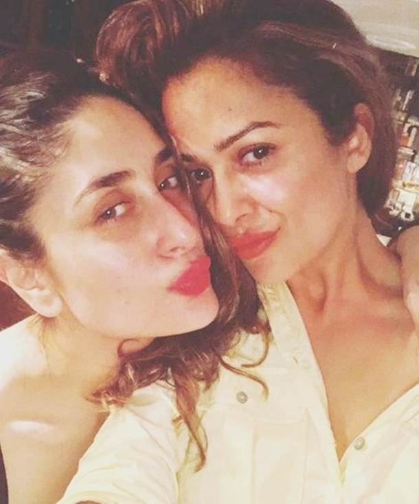 kareena kapoor with amrita arora