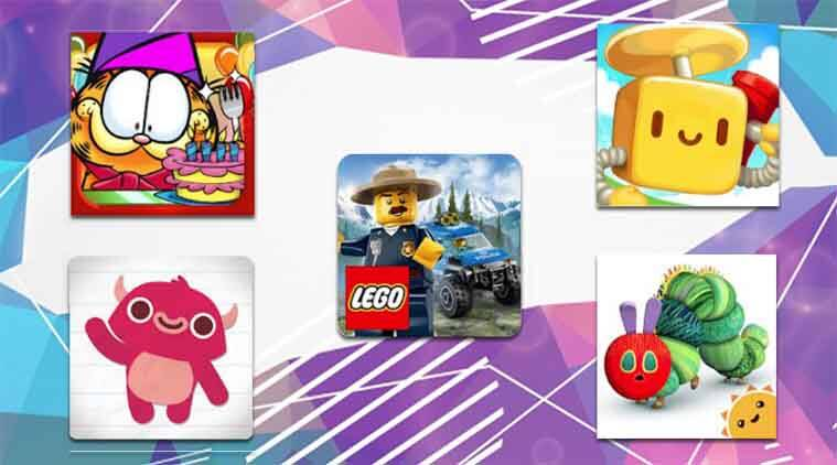 best five android games for kids, top five android games for kids, endless reader, lego games, coding games for kids, garfield's defense 2, android, mobiles, google, google play store